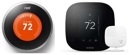The Nest Smart Thermostat vs. The Ecobee3 SmartThermostat